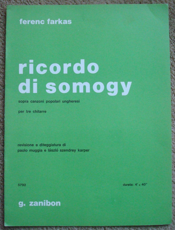 Ricordo di Somogy for Three Guitars
