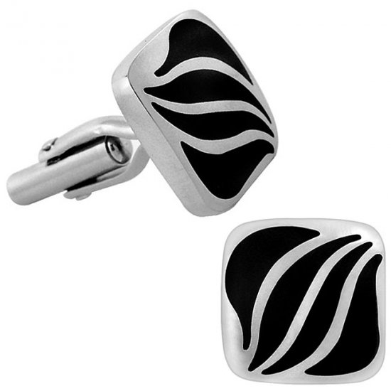 Men's Designer Cuff Links Stainless Steel
