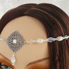 PEARL medieval Elven LARP CIRCLET crown wedding tiara
