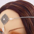 ITEM 3284 Pearl Elvish Medieval CIRCLET crown