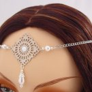 ITEM 3290 Pearl Elvish Medieval CIRCLET crown