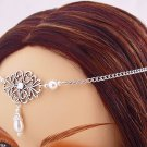 ITEM 3286 Pearl Renaissance Elvish LARP Medieval CIRCLET crown
