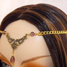 PURPLE medieval renaissance ELViN CIRCLET crown tiara
