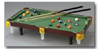 Club Fun Table top Miniature Pool Table