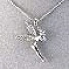 SILVER TINKERBELL NECKLACE