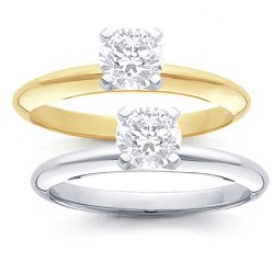 HALF CARAT DIAMOND  SOLITAIRE  RING