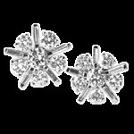 TWO  CARAT  DIAMOND  EARRINGS