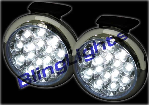 2008 Subaru Impreza LED Fog Lamps Lights 08 wrx white blue red