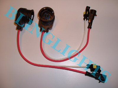 D2R D2S Bulb Socket Wires Cable Ballast Harness HID