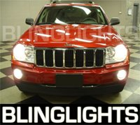 2004-2008 Jeep Grand Cherokee Halo Fog Lamps lights 04 05 06 07 08