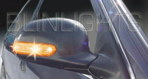 1998-2004 Audi A6 Mirror LED Turn Signals 01 02 03 s6