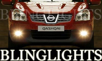 2007-2008 Nissan Qashqai Xenon Fog Lamps lights visia