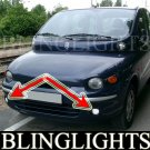 98-2003 FIAT MULTIPLA FOG LIGHTS driving lamps 00 01 02