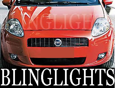 2005-2008 Fiat Grande Xenon Fog Lamps lights 06 07 08