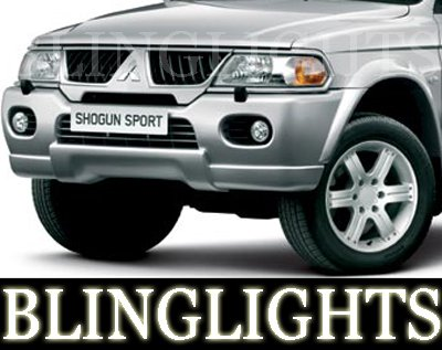 1997-2008 Mitsubishi Shogun Fog Lamps lights 05 06 07