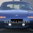 1990-1998 Mazda Miata Xenon Fog Lamps lights white blue
