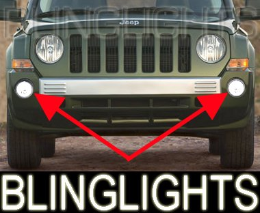 2007 2008 Jeep Patriot Xenon Fog Lamps Lights 07 08