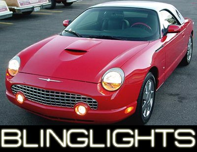 2002-2005 FORD THUNDERBIRD FOG LAMPS lights 03 04 hid