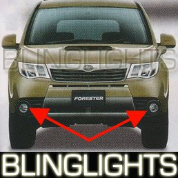 2009 SUBARU FORESTER JDM FOG LAMPS driving lights x 09