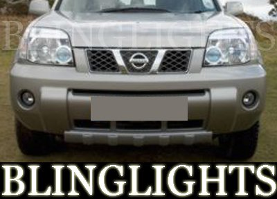 2001-2008 Nissan X-trail Fog Lights Lamps 04 05 06 07