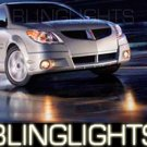 2003-2009 Pontiac Vibe Xenon Fog Lamps 05 06 07 lights