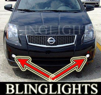 2007 2008 NISSAN SENTRA SE-R LED FOG LIGHTS lamps ser r
