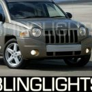 2007 2008 JEEP COMPASS FOG LAMPS driving lights sport