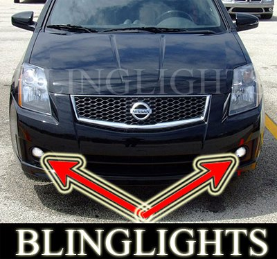 2007 2008 NISSAN SENTRA SE-R LED FOG LIGHTS lamps ser r