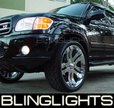 01-08 TOYOTA SEQUOIA XENON FOG LAMPS 04 05 06 07 lights