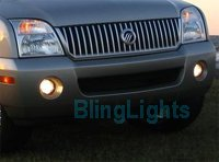 02-06 MERCURY MOUNTAINEER XENON FOG LAMPS 04 05 lights