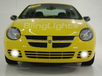 2000-2005 DODGE NEON FOG LAMPS lights hid 01 02 03 04