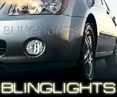 01-08 KIA SPECTRA XENON FOG LAMPS spectra5 06 07 lights