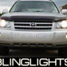 01-07 Toyota Highlander Xenon Fog Lamps 04 05 06 sport