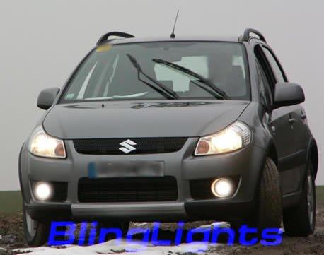 2007-2008 Suzuki SX4 Xenon Fog Lamps lights 07 08
