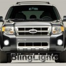 2008 FORD ESCAPE XENON FOG LAMPS lights 08 white blue