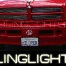 97-08 Dodge Dakota Xenon Fog Lamps ST SLT lights 06 07