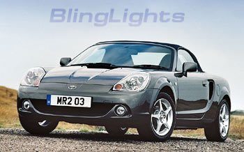 99-07 Toyota MR2 Xenon FOG LAMPS lights 04 05 06 Spyder