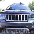 04-08 JEEP GRAND CHEROKEE XENON FOG LAMPS lights laredo