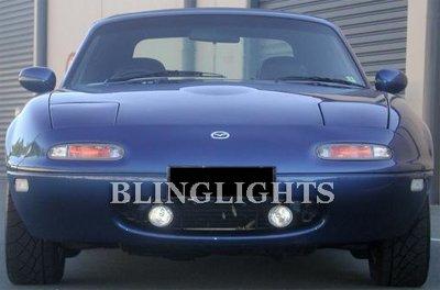 1990-1998 Mazda Miata Xenon Fog Lamps lights white blue