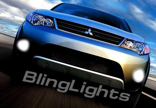 2007-2008 Mitsubishi Outlander Xenon Fog Lamps lights