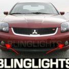 04-08 Mitsubishi Galant Xenon Fog Lamps Lights 05 06 07