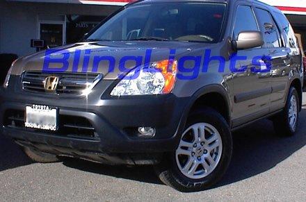 02-04 Honda CR-V Xenon Fog Lamps kit lights crv lx ex