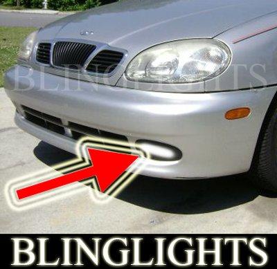 97-02 DAEWOO LANOS FOG LIGHTS lamps sen assol 99 00 01