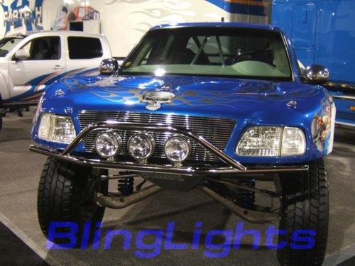 2004-2008 Nissan Armada Halo Driving Lamps lights 06 07