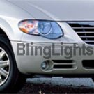 96-07 Chrysler Town and Country HALO Fog Lamps Lights &