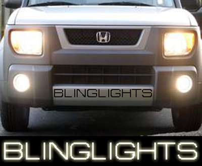 2003-2008 Honda Element Halo Fog Lights Lamps 05 06 07