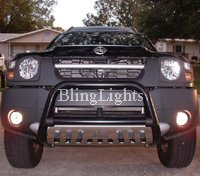 02-09 Nissan Xterra Green Halo Fog Lamps lights 08 09