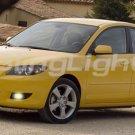 04-07 Mazda3 Green Halo Fog Lamps lights 05 06 mazda 3