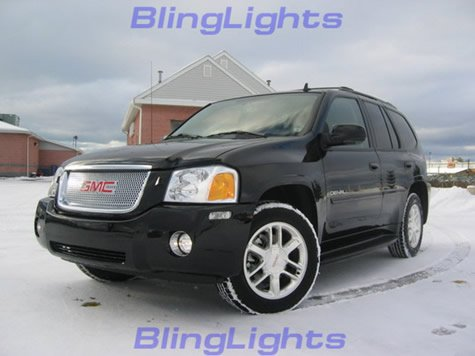 2002-2008 GMC ENVOY GREEN HALO FOG LIGHTS Lamps 05 07