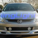 98-05 Honda Accord Green Halo Fog Lamps lx dx lights 02